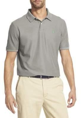 Izod Classic-Fit Short-Sleeve Advantage Contrast Polo