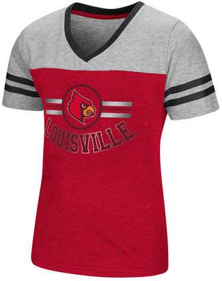 Colosseum Louisville Cardinals Pee Wee T-Shirt, Girls (4-16)