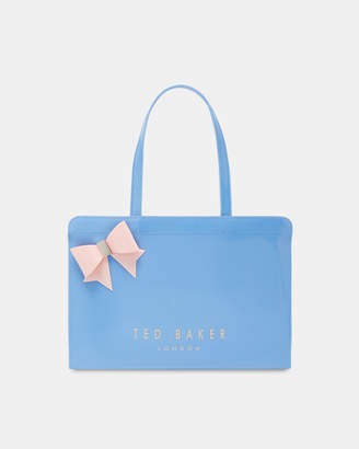 Ted Baker LUSSCON Contrast bow icon bag