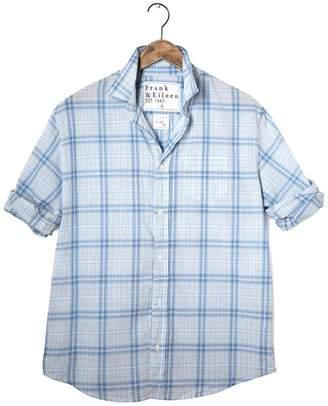 FRANK \u0026 EILEEN Mens Luke Cotton Chambray Shirt