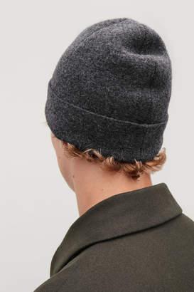 Cos RAW-CUT WOOL HAT