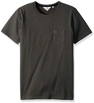 Ben Sherman Men's Fine Stripe Crew Tee