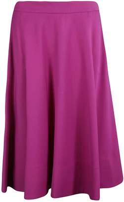 Calvin Klein Flared Long Skirt