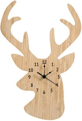 Trend Lab Stag Head Wall Clock