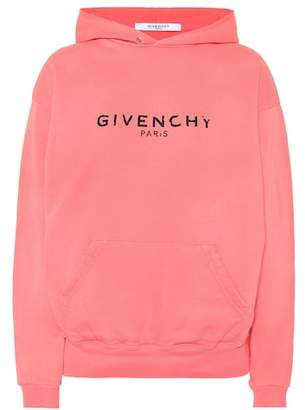 Givenchy Logo cotton hoodie
