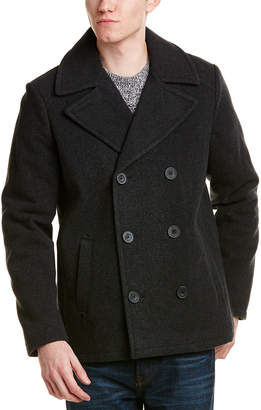 Kenneth Cole Reaction Wool-Blend Peacoat
