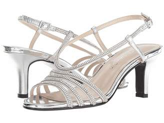 f19cb8a184a Caparros Silver Rhinestone Women s Sandals - ShopStyle