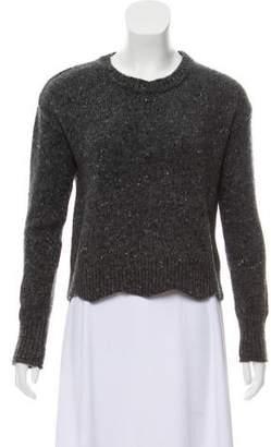 Rebecca Minkoff Scalloped Wool Sweater
