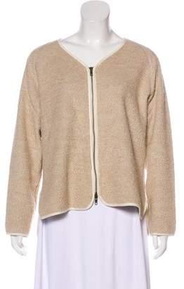 Billy Reid Knit V-Neck Jacket
