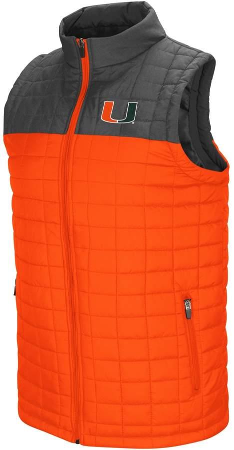 Men's Miami Hurricanes Amplitude Puffer Vest