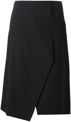 Marc by Marc Jacobs crossover front asymmetric skirt