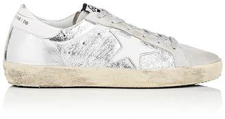Golden Goose Women's Superstar Suede & Leather Sneakers $480 thestylecure.com