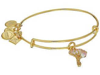 Alex and Ani Charity by Design Pink Tulips Bangle
