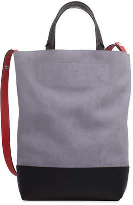 Rag & Bone Walker Convertible Tall Suede/Leather Tote Bag