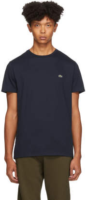 Lacoste Navy Pima Cotton T-Shirt