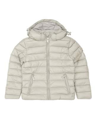 Pyrenex Spoutnic Shiny Down Padded Jacket Colour: ROCK, Size: Age 8