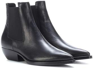 Saint Laurent Theo 45 leather Chelsea boots