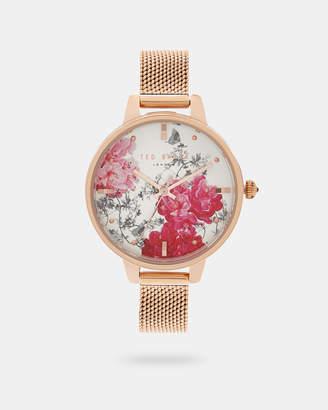 Ted Baker KALONA Babylon mesh strap watch