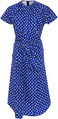 Marni Short Sleeve Polka Dot Dress