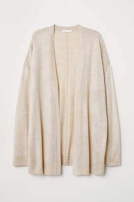 H&M Fine-knit Cardigan - Beige