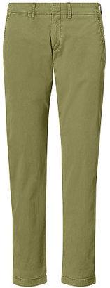 Polo Ralph Lauren Cotton Boyfriend Pant $98.50 thestylecure.com