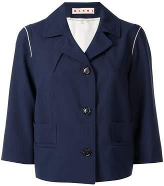 Marni fitted blazer jacker