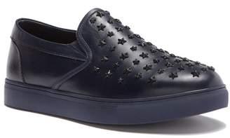 Badgley Mischka Gable Leather Slip-On Sneaker