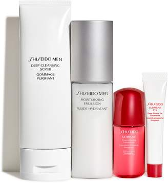 Shiseido Men's Skin Care Essentials Set
