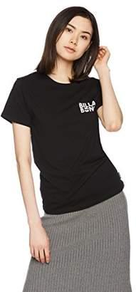 Billabong (ビラボン) - (ビラボン) BILLABONG [ レディース ] 半袖 Tシャツ (ロゴ プリント) [ AI013-200/UNITY LOGO SS TEE ] おしゃれ AI013-200 BWT BWT_ブラック L