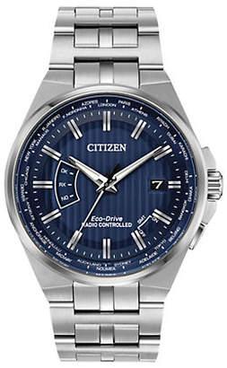 Citizen Mens World Perpetual CB0160-51L Watch