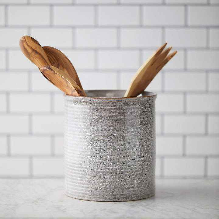 terrain Stoneware Utensil Holder
