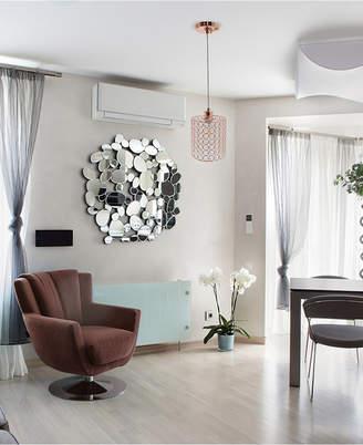 Elegant Designs 1 Light Elipse Crystal Cylinder Pendant