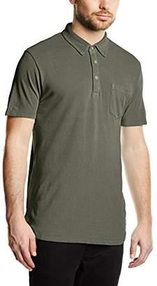 Esprit Men's Flow GMT Dye PI Short Sleeve Polo Shirt