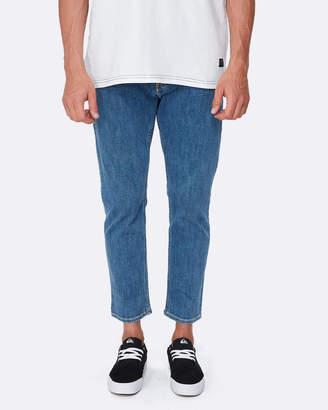 Quiksilver Mens Original Denim Straight Fit Jean
