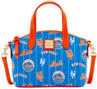 Dooney & Bourke New York Mets Nylon Mini Crossbody Satchel