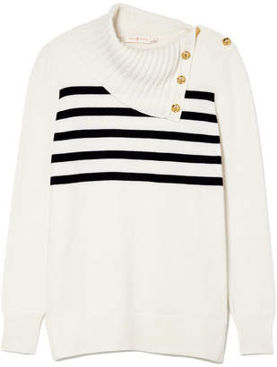 Tory Burch Sandra Cashmere Sweater