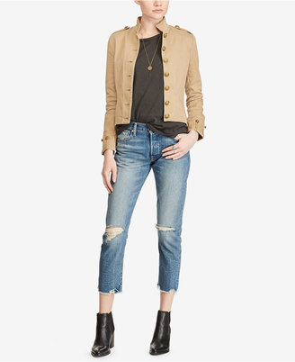 Denim & Supply Ralph Lauren Cotton Twill Jacket $165 thestylecure.com