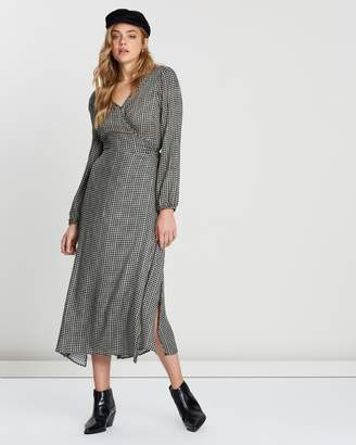 Cotton On Woven Ivy Sleeved Maxi Dress