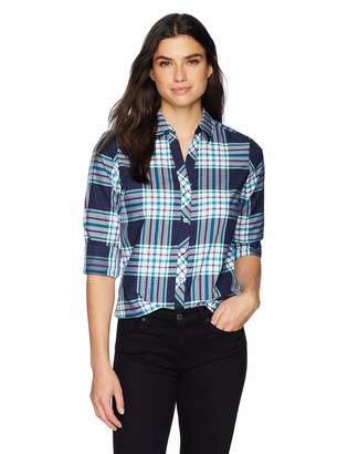 Foxcroft Women's Faith Tartan Plaid Tunic
