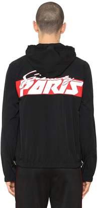 Givenchy Motocross Nylon Windbreaker Jacket