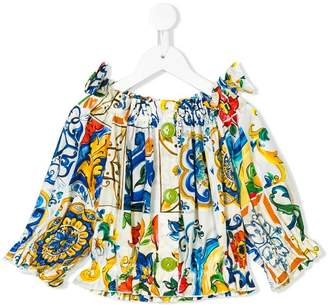 Dolce & Gabbana Maioliche buttoned blouse