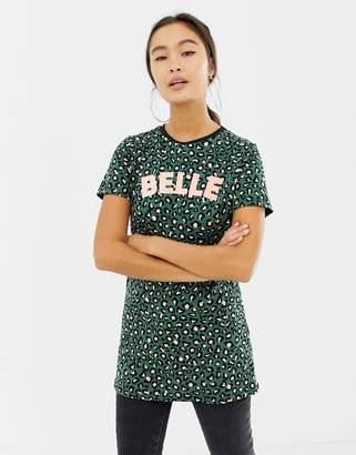 d9a1ce20fd29fe Womens Green Leopard Print Shirt - ShopStyle