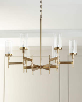 John-Richard Collection John Richard Collection Contemporary Chandelier with Glass Shades
