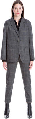 Max Studio glen plaid blazer