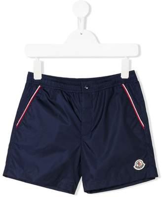 Moncler logo swim shorts