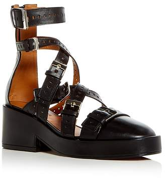 Robert Clergerie Clergerie Paris Leather Platform Wedges cheap get authentic CMvioRj