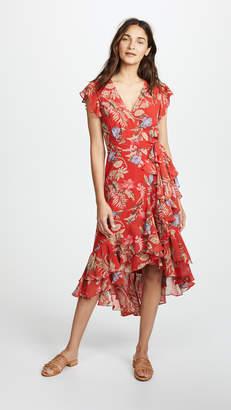 WAYF Clara Wrap Dress