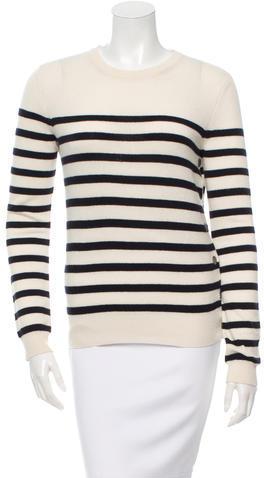 JOSEPHJoseph Cashmere Striped Sweater