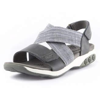 Therafit Shoe Jessica Leather Adjustable Cross Strap Sandal Women Shoes