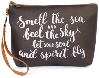 Riah Fashion Smell-The-Sea Cosmetic Bag